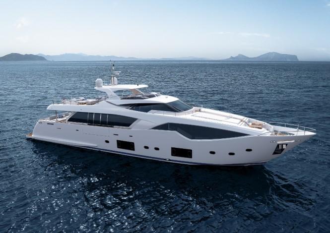 Superyacht Custom Line 108' designed by Zuccon International Project