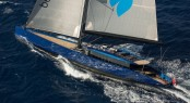 Wally Yacht Better Place under sail - Photo by Gilles Martin-Raget