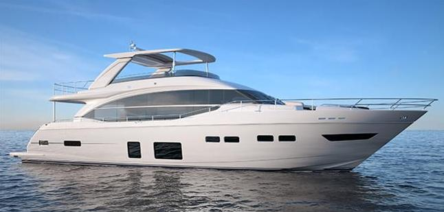 New motor yacht Princess 75 by Princess Yachts