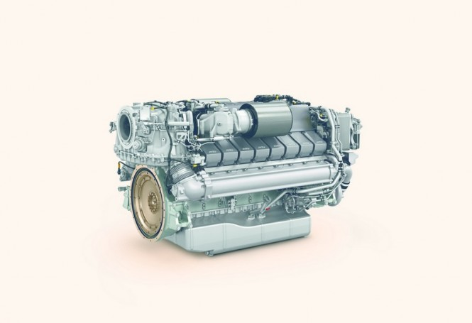 The Series 2000 M96 engine by MTU