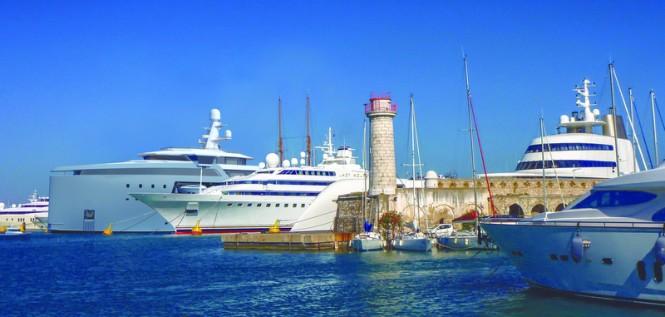 100m DAMEN SeaXplorer yacht support vessel in Antibes