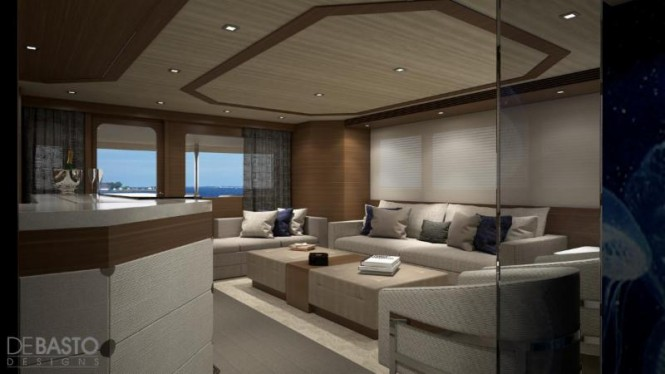 31,55m Burger Boat superyacht - Interior