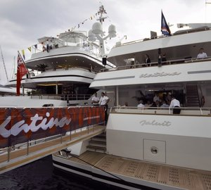 World Premiere for Impressive 60m Brodosplit Charter Yacht KATINA at Monaco Yacht Show