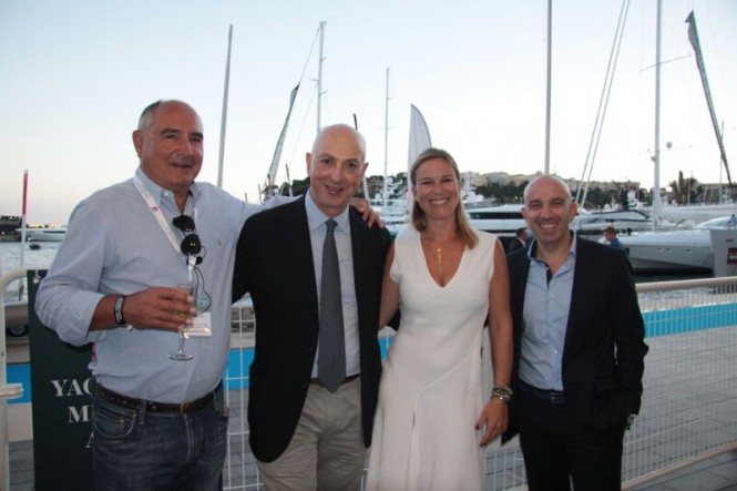 A cocktail reception to officially announce 3rd Mediterranean Yacht Show