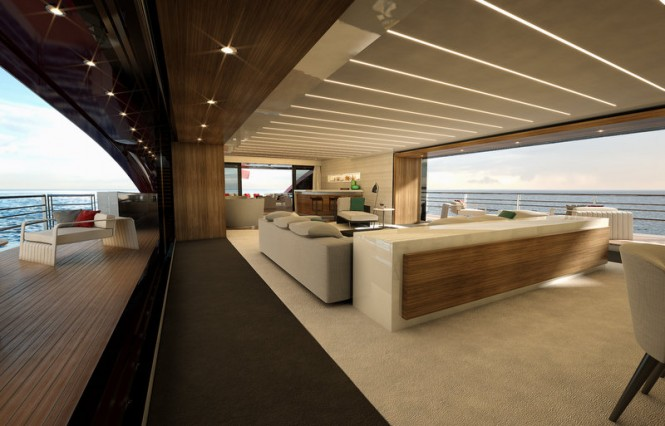 Aboard SeaFalcon superyacht project