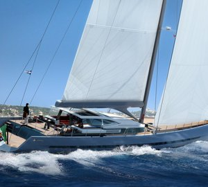 Sale of first 38m Admiral Sail superyacht WAVE designed by Philippe Briand