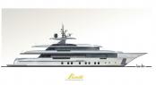 Benetti FB702 yacht ZAFIRO project
