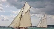 Classic sailing yachts Mariquita v Eleonora match race - Image courtesy of Ben Wood - islandimages.co.uk