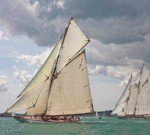 Sailing Yacht MARIQUITA v. Charter Yacht ELEONORA match race raises £67,000 for disabled sailing charity Wetwheels