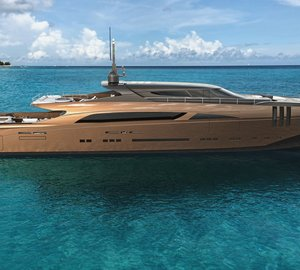 Designer Federico Fiorentino and Van Oossanen Naval Architecture Join Forces on the Motor Yacht 'THE BELAFONTE'