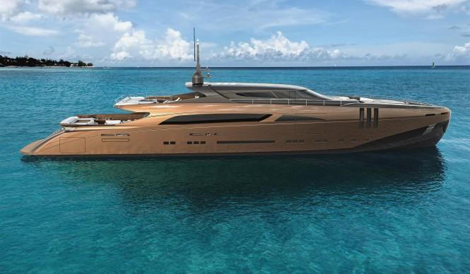 Federico Fiorentino - The Belafonte Superyacht Concept