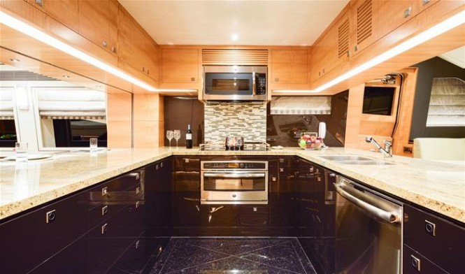 Horizon E88 superyacht Hull no. 2 - Galley