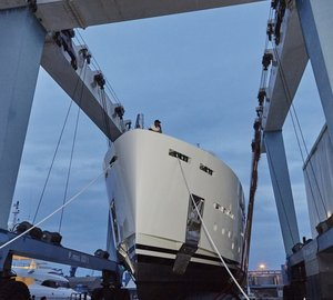 Mondomarine's 100th Anniversary Celebration marked by launch of SF40 motor yacht SERENITY a Great Success