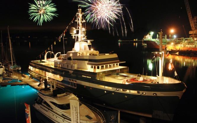 Luxury explorer superyacht STEEL