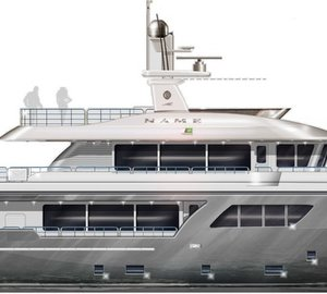 Cantiere delle Marche to launch new Darwin Class 102' Yacht this month