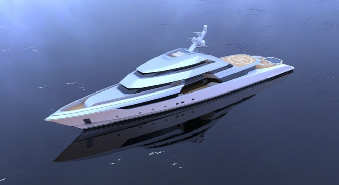 Luxury yacht FOCUS concept