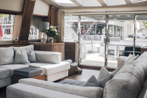 Luxury yacht ZULU - New interior by Baldwin Harris Design