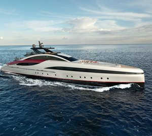 New M60 Mega Yacht SeaFalcon project unveiled by Mondomarine at MYS 2015