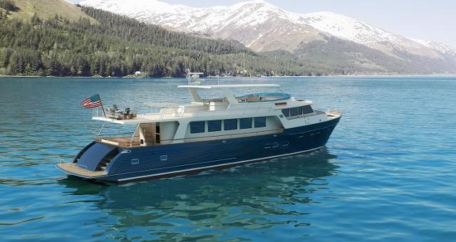 Marlow Explorer 88E superyacht