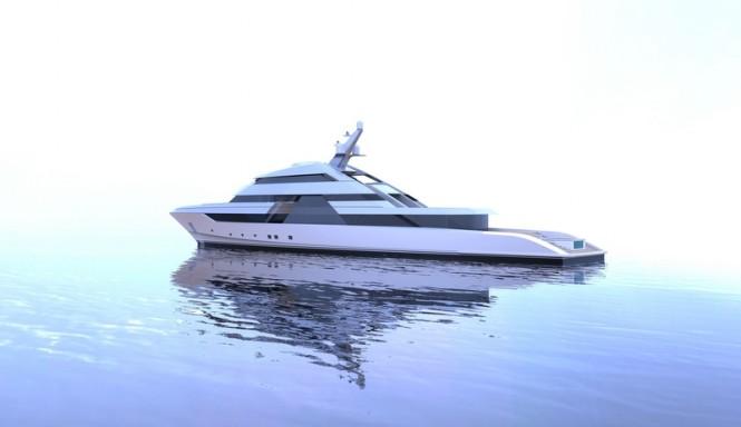 Mega yacht FOCUS concept