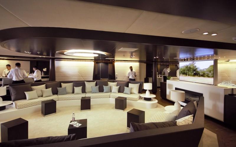 Mega yacht katina saloon yacht charter superyacht news - Salon du yacht monaco ...