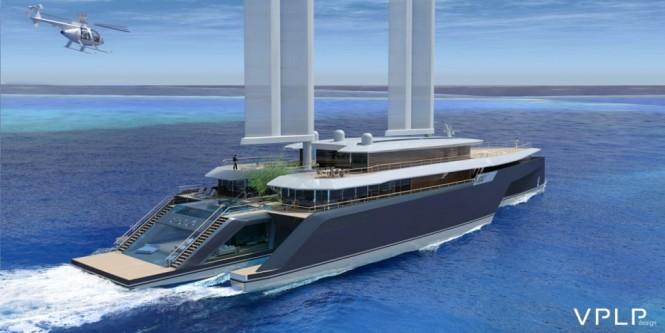 Mega yacht KOMOREBI concept