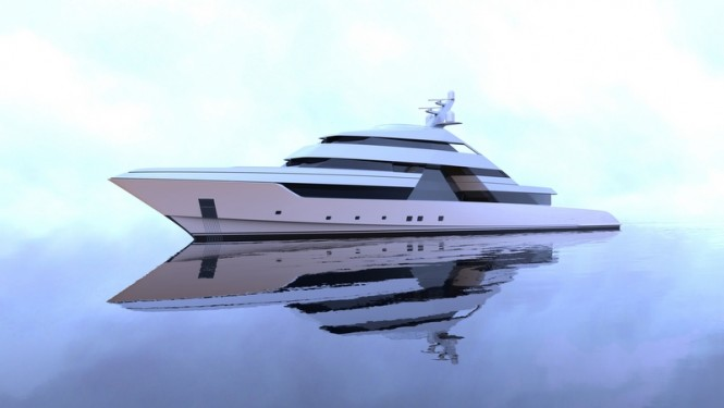 New 75m superyacht FOCUS concept by Nick Mezas Yacht Design
