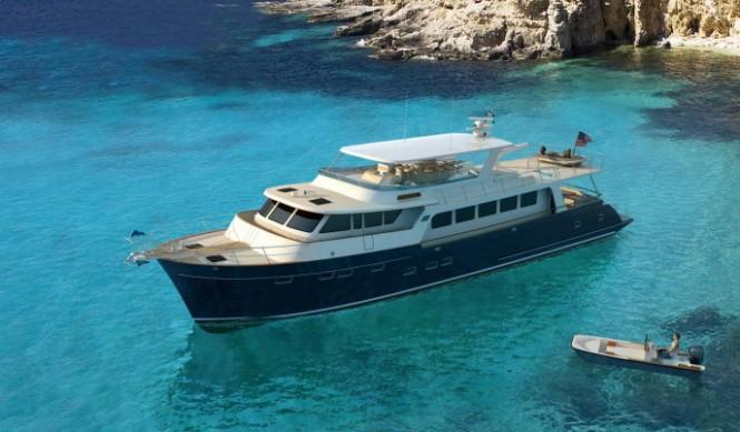 New Marlow Explorer 88E Yacht