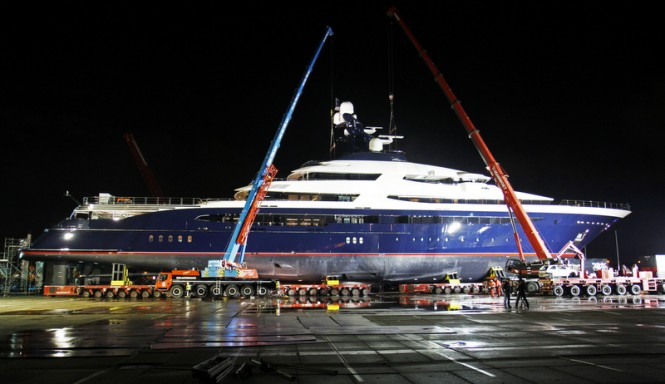 Oceanco mega yacht Project EQUANIMITY
