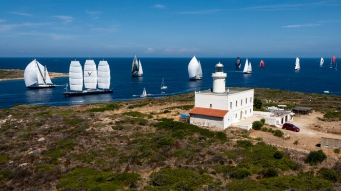 Perini Navi Cup in the fabulous Sardinia yacht charter location - Porto Cervo