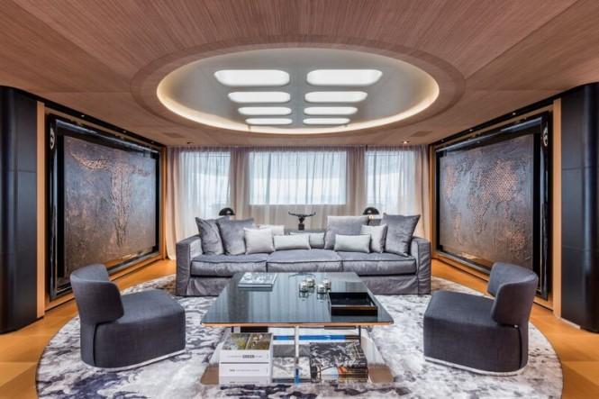 SUERTE Yacht - Saloon