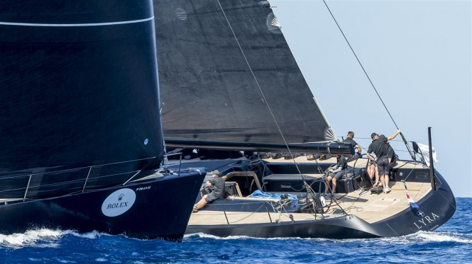 Sailing Yacht LYRA - Maxi Yacht Rolex Cup - Photo Carlo Borlenghi for Rolex
