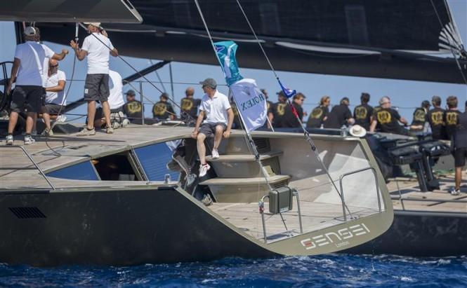 Sailing Yacht SENSEI - Maxi Yacht Rolex Cup - Photo Carlo Borlenghi for Rolex
