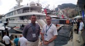 Seal Superyachts Agents at the 2015 Monaco Yacht Show
