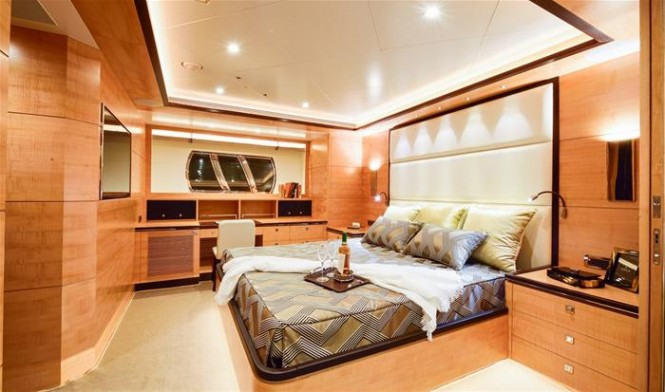 Second Horizon E88 yacht - Cabin