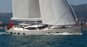 Second Oyster 100 superyacht PENELOPE under sail