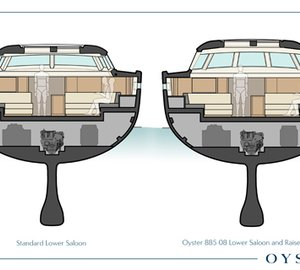Oyster to build Oyster 885 Sailing Yacht Hull no. 8 with a very special layout