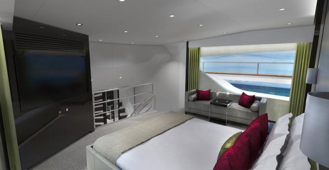 Sunseeker 95 Yacht - Master Stateroom