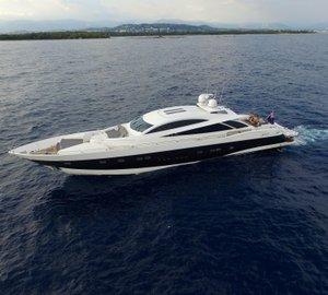 Eye-catching Sunseeker Predator 108 Motor Yacht ZULU for sale