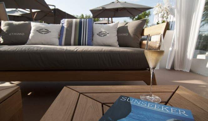 Sunseeker at the 2015 Cannes Yachting Festival