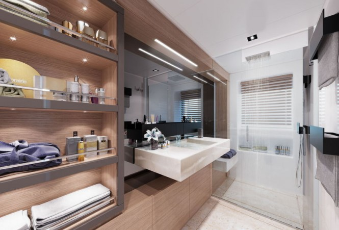 Super yacht Navetta 37 - Bathroom