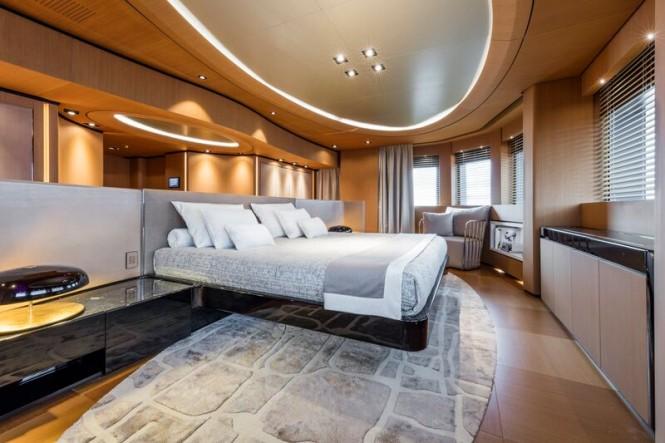 Super yacht SUERTE - Owners Cabin
