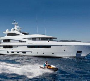 Smart hybrid 58m Motor Yacht AMELS 188 unveiled at Monaco Yacht Show 2015