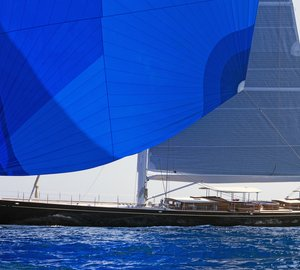 First Truly Classic 127 Sailing Superyacht ATALANTE delivered by Claasen Shipyards