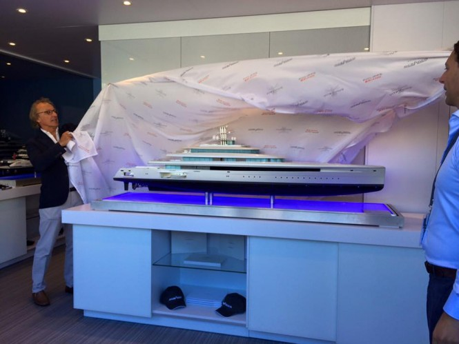 Vitruvius Motor Yacht Acquaintance 105m unveiled at MYS 2015