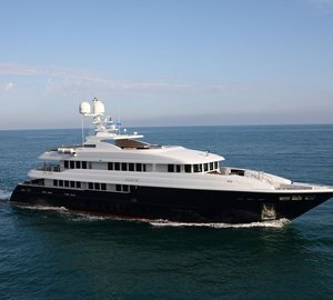 Beautiful 50m MONDOMARINE Charter Yacht ZALIV III Available for Eastern Mediterranean Yacht Rental this Winter