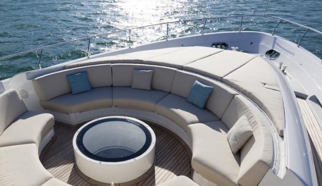 Aboard SEALOOK Yacht