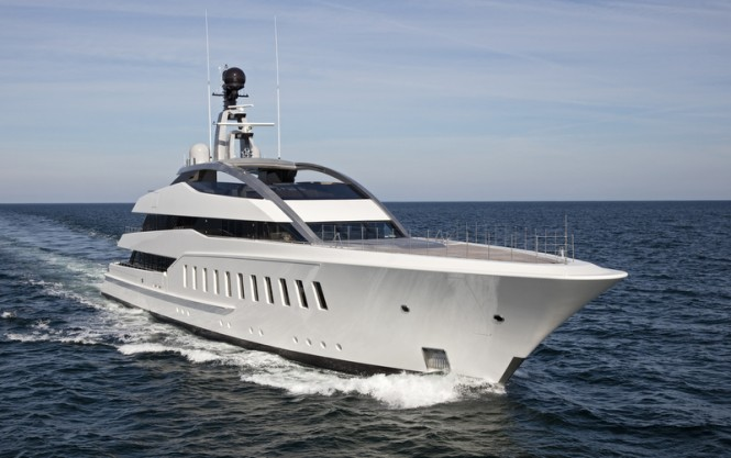 Luxury yacht HALO