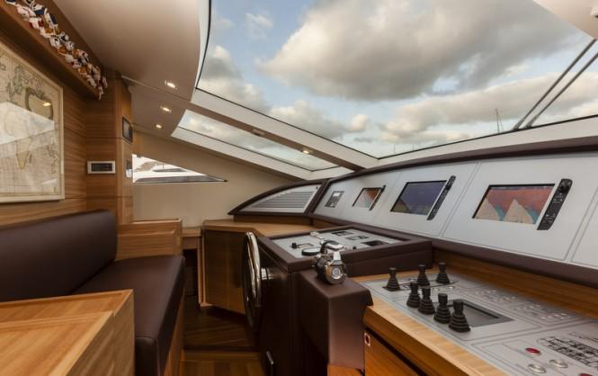 Luxury yacht SEALOOK - Wheelhouse