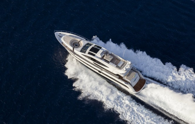 Superyacht SEALOOK from above
